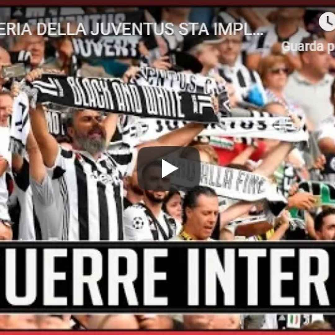 La tifoseria della Juventus sta implodendo - VIDEO