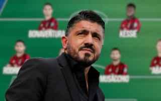 Serie A: milan-empoli  serie a  formazioni
