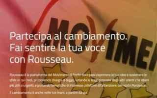 Politica: rousseau m5s politica