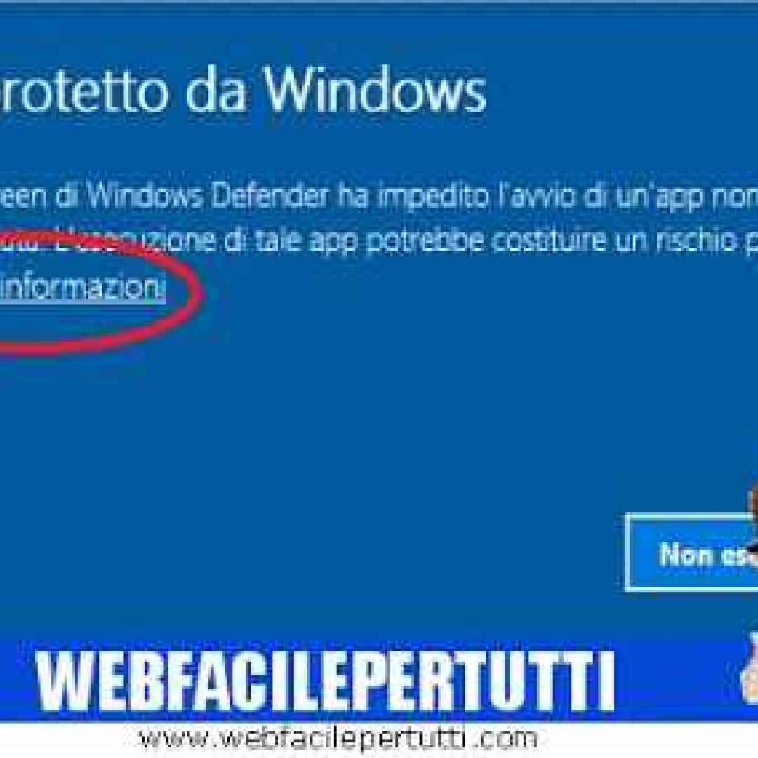 windows 10  disattivare  smartscreen