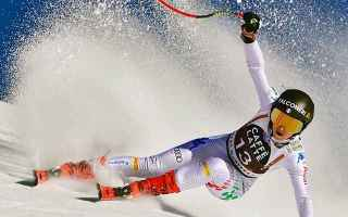 Sport Invernali: SCI ALPINO: SOFIA GOGGIA FESTEGGIA L