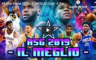Basket: basket nba all star game video