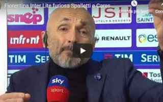 Serie A: fiorentina inter video calcio spalletti