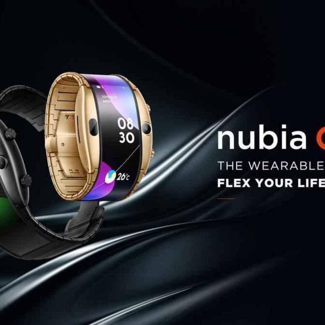 nubia alpha  smartphone  smartwatch  mwc