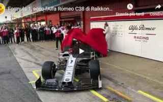Formula 1: formula 1 motori video sport alfa romeo