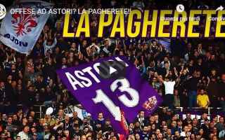 Serie A: fiorentina video astori calcio shock