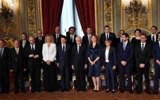 Politica: governo conte  m5s  lega