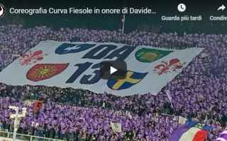 Calcio: firenze fiorentina video ultras calcio