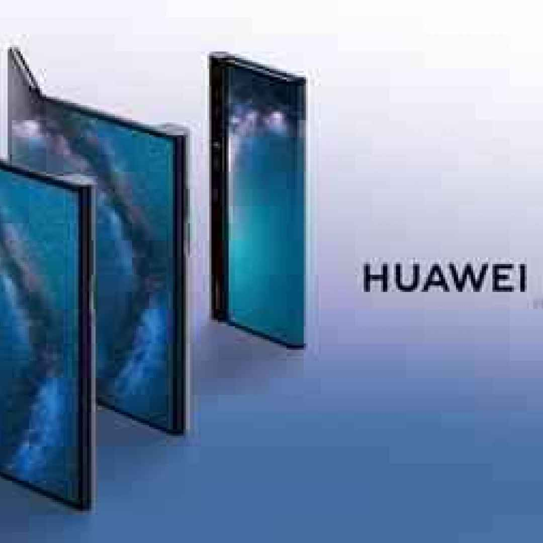 smartphone pieghevole  huawei  huawei mate