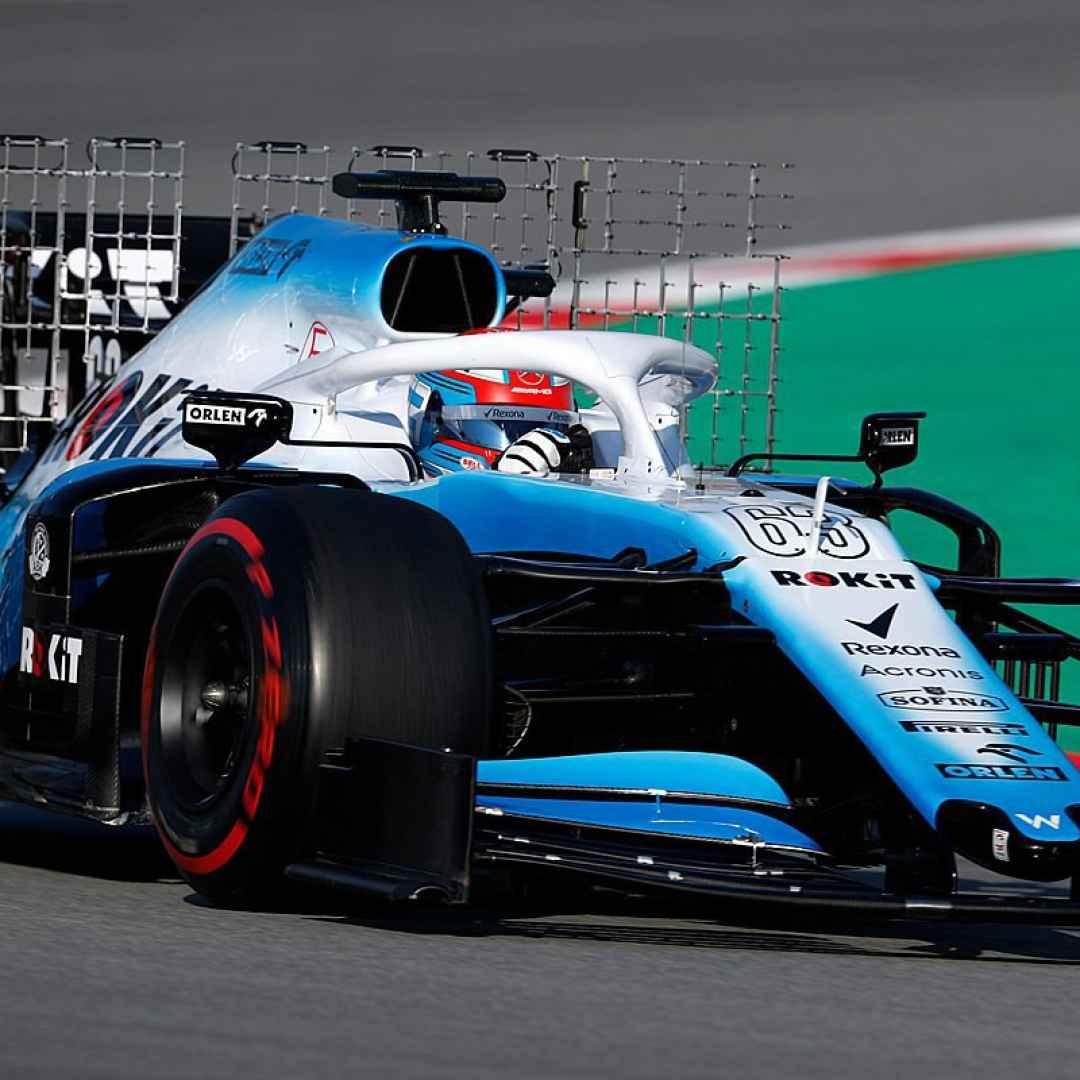 f1  formula 1  williams  f1testing
