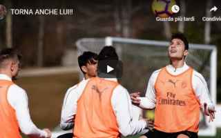 Serie A: milan calcio video pellegatti