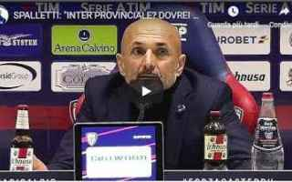 Serie A: inter video spalletti calcio cagliari