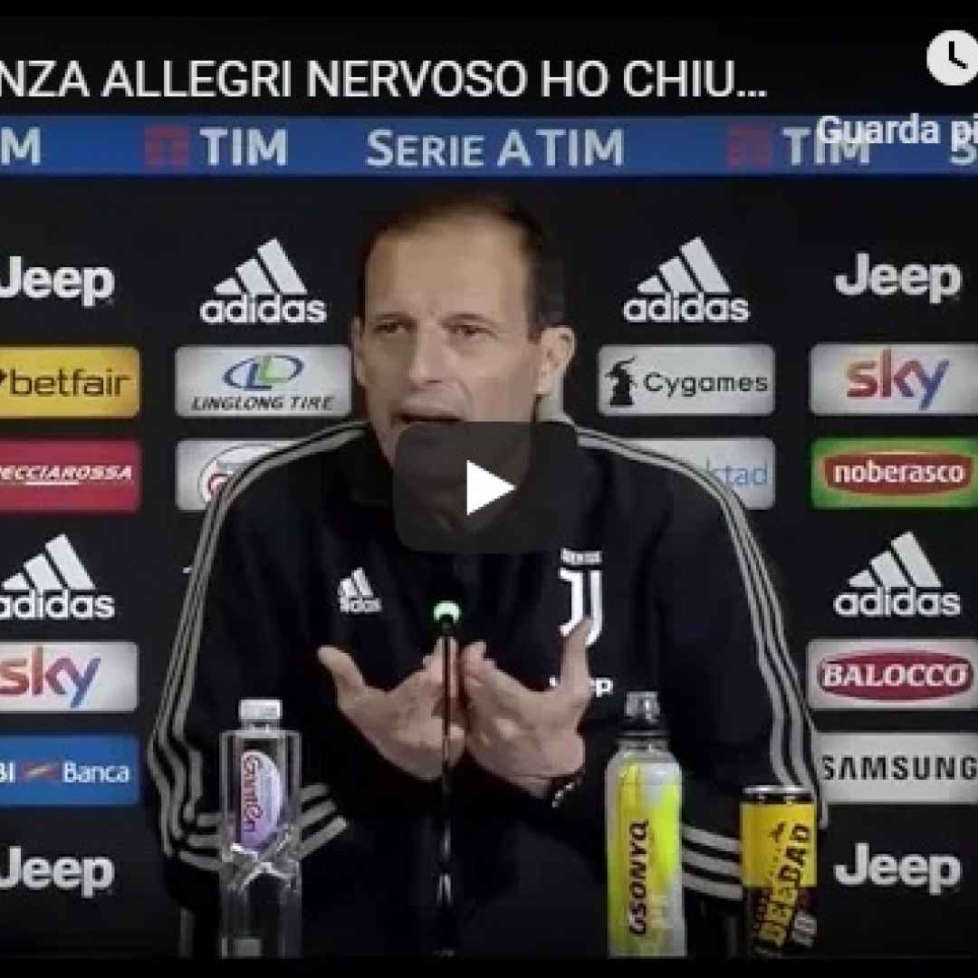 juventus juve calcio video allegri