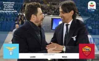 Serie A: calcio lazio roma serie a  derby