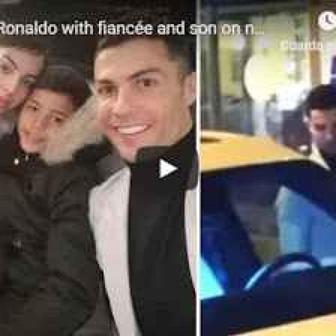 Cristiano Ronaldo con la nuova Rolls-Royce da 400mila euro - VIDEO