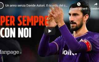 davide astori video calcio fiorentina
