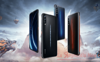 Cellulari: smartphone  vivo  iqoo  !2 gb ram
