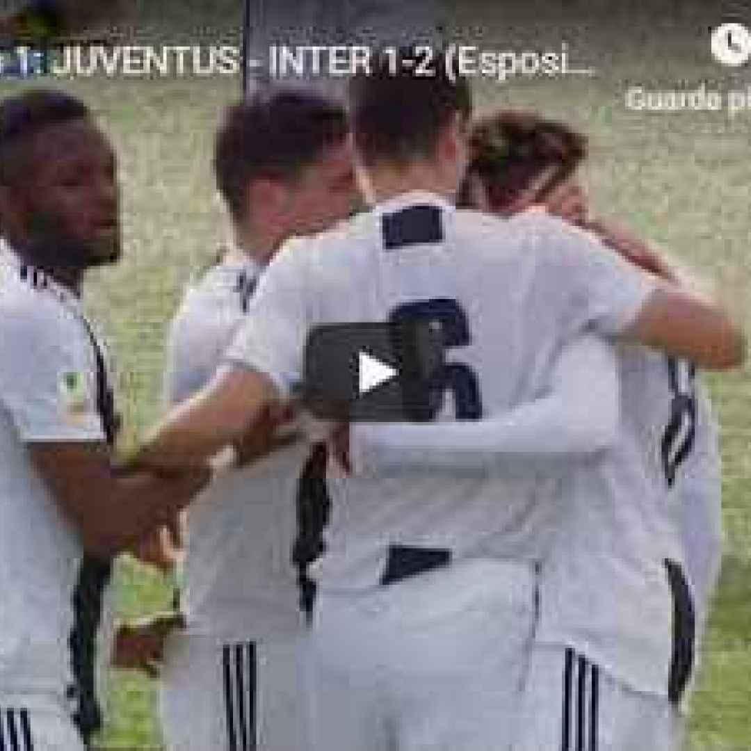 juventus inter video gol calcio