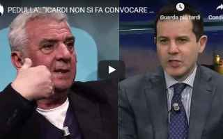 Calcio: icardi inter pedullà calcio video