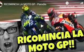 MotoGP: moto gp  video  parodia  gli autogol