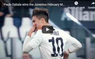 juventus juve calcio video dybala