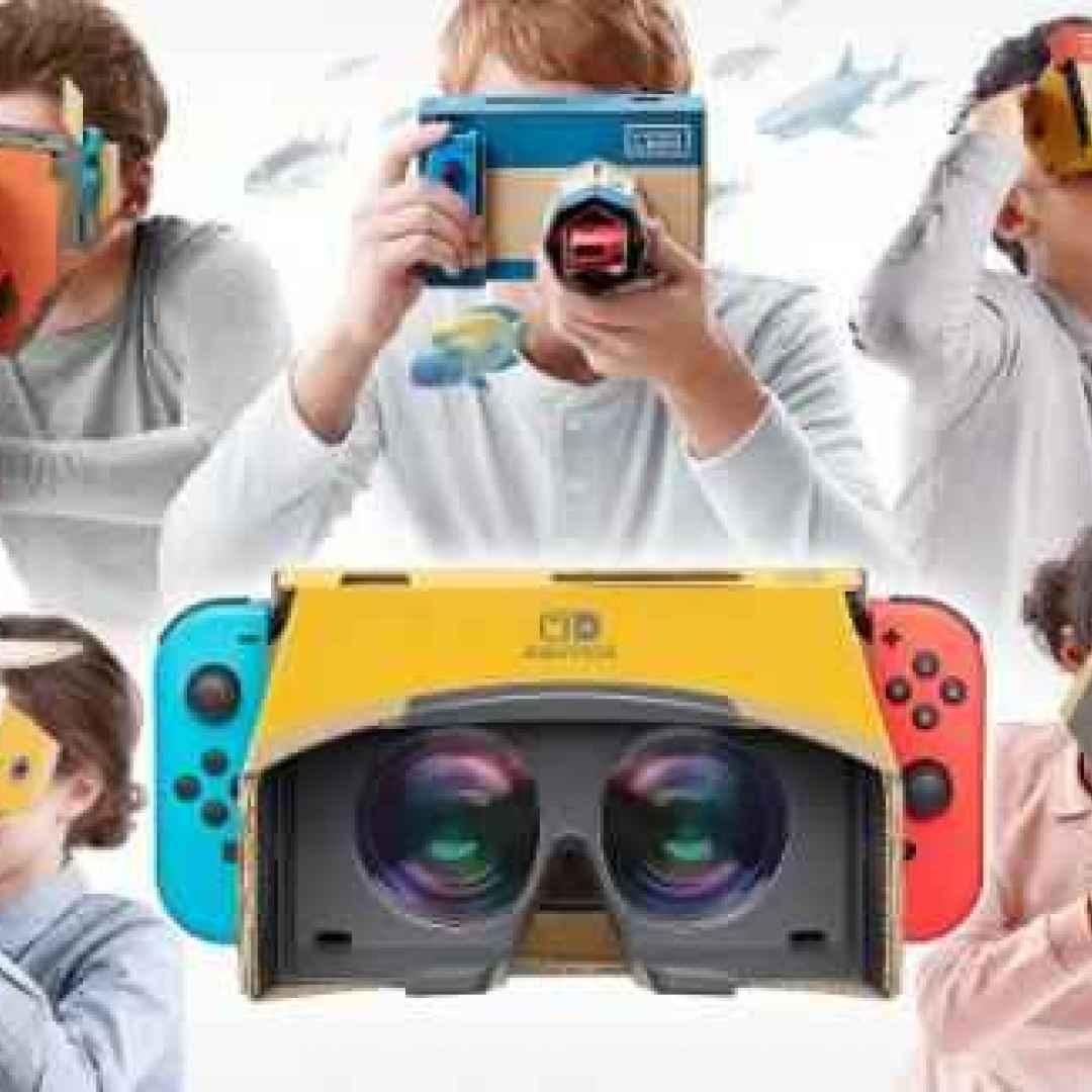 consolle  nintendo  realtà virtuale