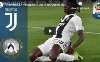 Serie A: juventus udinese video gol calcio