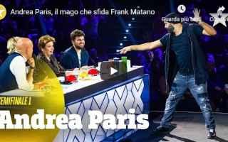 video tv frank matano talent
