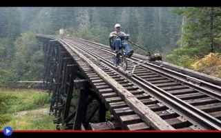 Ciclismo: ciclismo  esplorazioni  treni  ferrovie