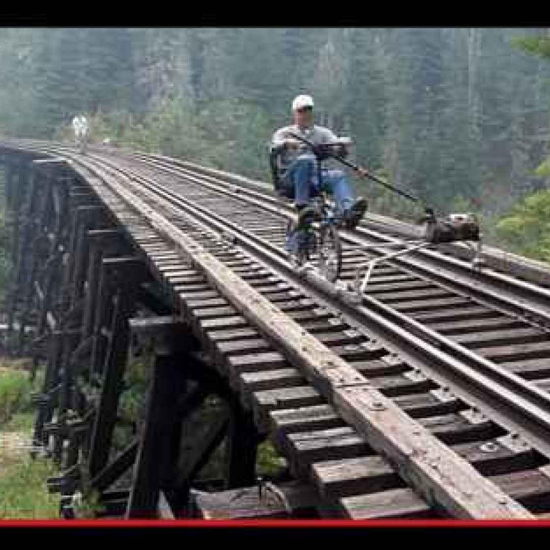 ciclismo  esplorazioni  treni  ferrovie
