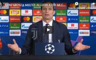 Champions League: juventus juve calcio video allegri