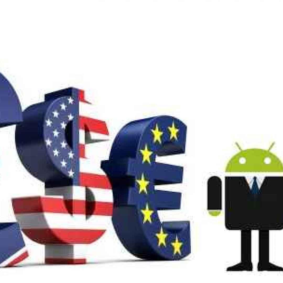 android valuta soldi economia denaro