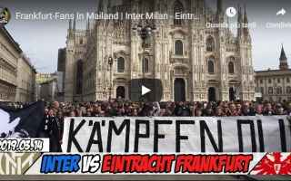 video ultras tifosi calcio milano
