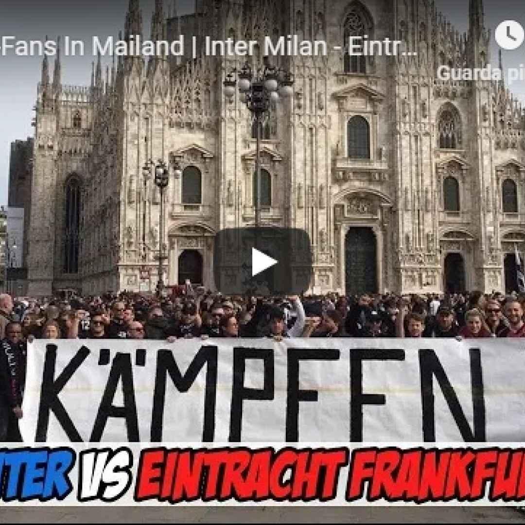 video ultras tifosi calcio milano