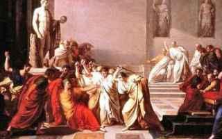 Cultura: giulio cesare  svetonio  ultime parole