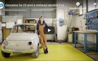 Automobili: video restauro fiat motori hobby