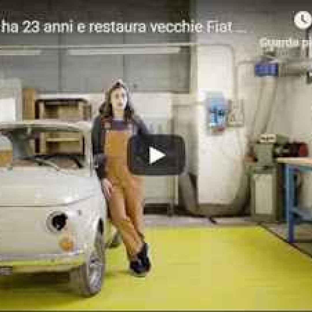 video restauro fiat motori hobby