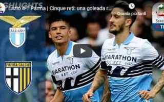 Serie A: lazio parma video gol calcio
