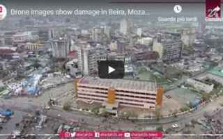 dal Mondo: video  ciclone  idai  mozambico  shock