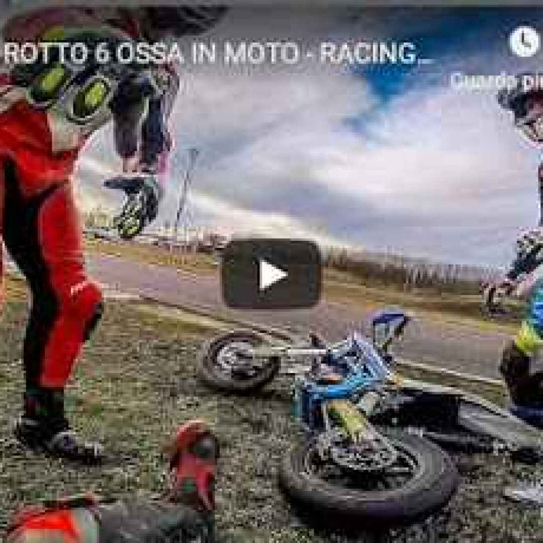 video moto motori pit bike alberto naska