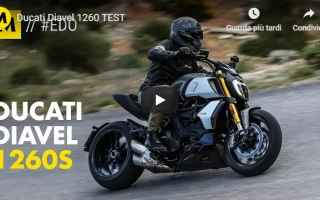 Moto: ducati moto motori video test