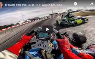 Motori: kart motori video youtuber alberto naska