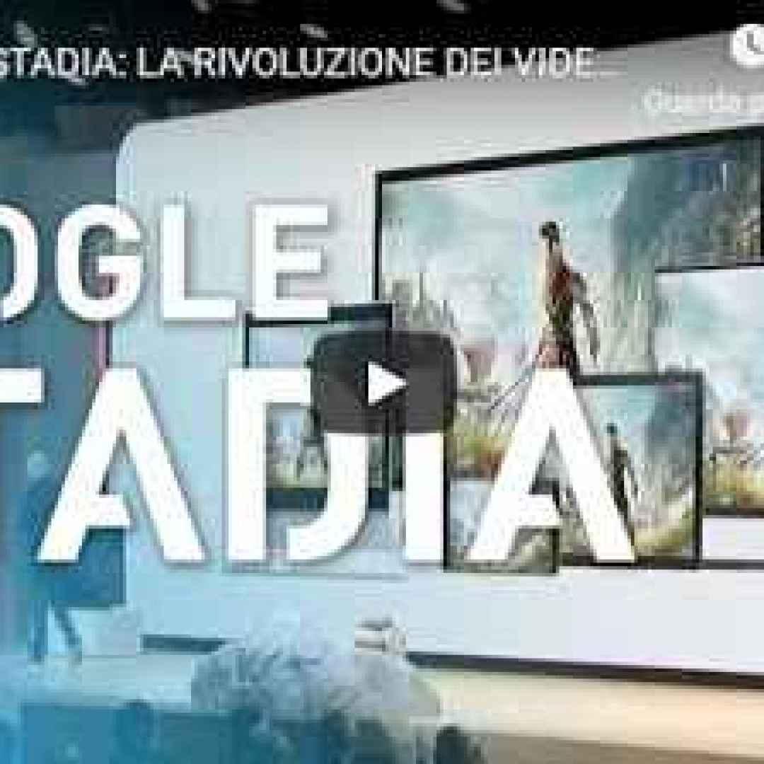 google stadia videogiochi videogame