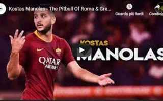 Calciomercato: roma juventus video calcio manolas
