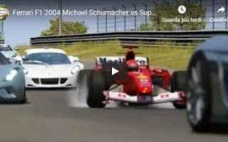 Formula 1: schumacher motori ferrari video f1