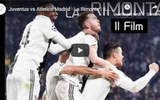 Champions League: juventus atletico calcio video film