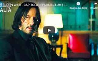 Cinema: john wick film trailer cinema video