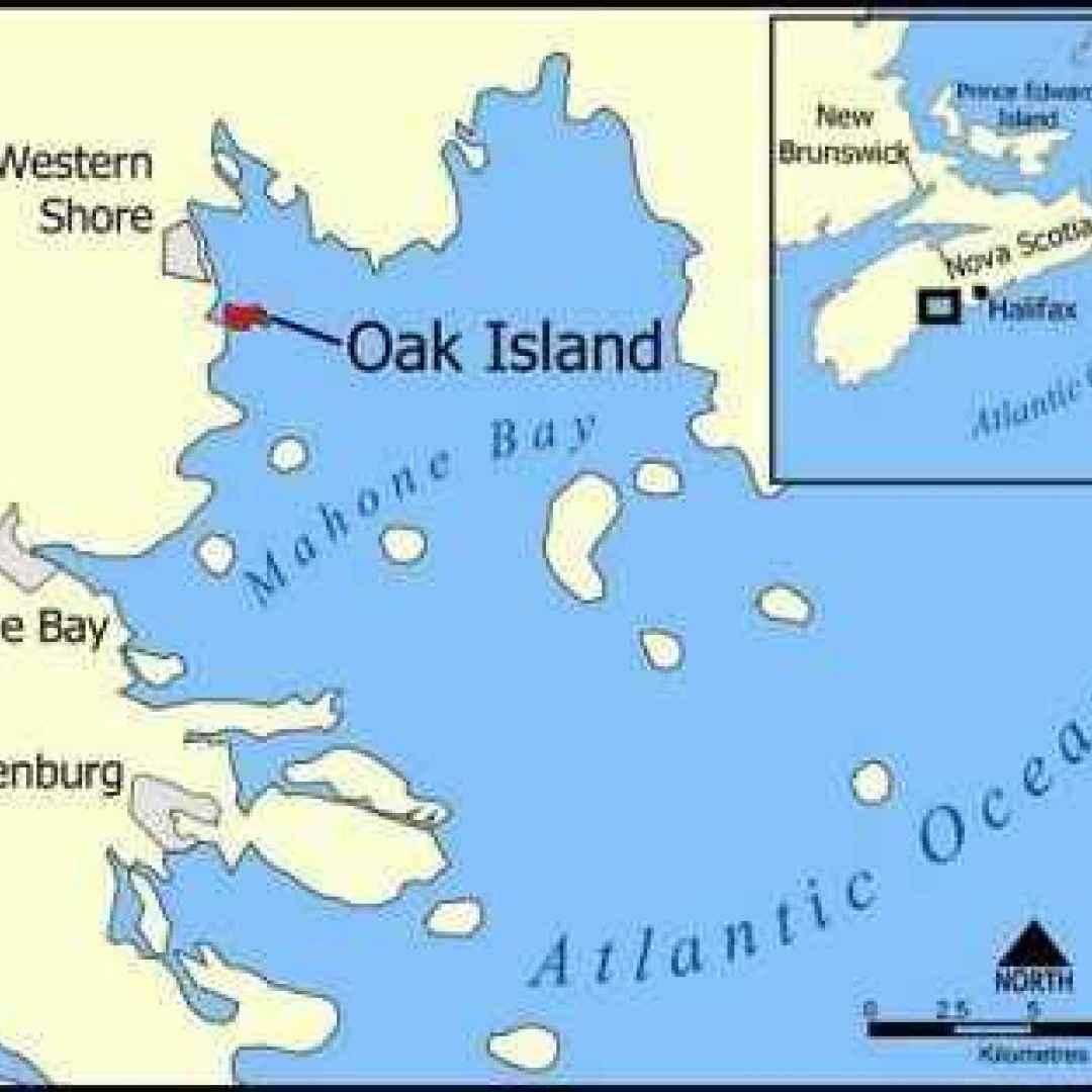 oak island  pozzo  templari
