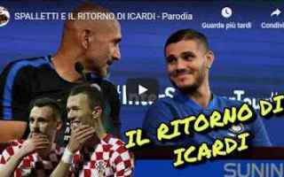 Calcio: spalletti icardi inter calcio video