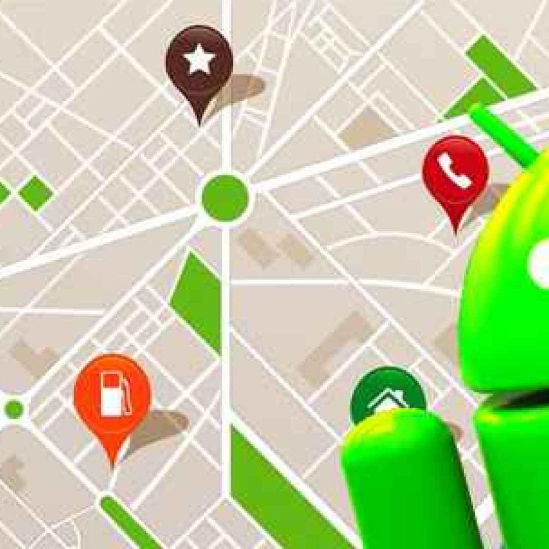 mappe navigatore android viaggi travel